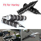 "Motorcycle 1"" Handlebar Hand Grips For Kawasaki Classic 800 1600 Vulcan 800 2000 $23.99 USD on eBay"