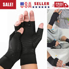 2pcs Copper Arthritis Compression Gloves Hand Support Joint Pain Relief USA $5.49 USD on eBay