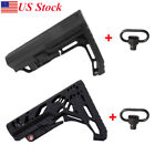 MFT Mission Stock Buttstock Tactical Rife Battlelink Adjustable Black Mil-Spec