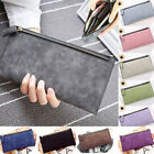 Women Ladies PU Leather Clutch Long Wallet ID Card Phone Holder Purse Handbag image