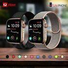 Sport Nylon Woven Loop Strap Iwatch Band For Apple Watch Series Se 6 5 4 3 2 1
