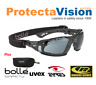 More images of Bolle RUSH PLUS Kit Black Frame With Semi-Hard case and Microfibre cloth