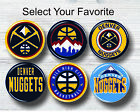 "Denver Nuggets Buttons 1.25"" Basketball Hat Shirt Jersey Pins Patch Logo Novelty"