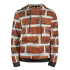 Old Brick Wall Texture Hoodie for Men image