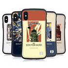 DOCTOR WHO CLASSIC GLITCH POSTERS HYBRID CASE FOR APPLE iPHONES PHONES $19.95 USD on eBay
