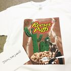 TRAVIS SCOTT REESES PUFFS CEREAL T-SHIRT astroworld rodeo supreme tour box merch image