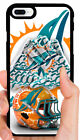 MIAMI DOLPHINS NFL PHONE CASE FOR iPHONE XS MAX XR X 8 7 PLUS 6S 6 PLUS 5S 5C 4S $14.88 USD on eBay