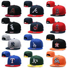 MLB Game 59FIFTY Fitted Cap Flat Brim Teams Adjustable Snapback Baseball Hat on Ebay