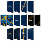 OFFICIAL NFL LOS ANGELES CHARGERS LOGO LEATHER BOOK WALLET CASE FOR APPLE iPAD $29.95 USD on eBay