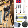 More images of HeavyDuty 3.8M Telescopic Ladder Working Ladder Scaffold Step Ladder All Purpose