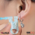 4pcs Disposable Ear Studs Piercing Gun w/Alcohol Prep Pads Unit Piercer Tool Kit