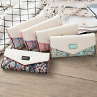 Lady Clutch Card Holder Envelope Wallet Women's Purse Handbag PU Leather Long image