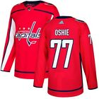 New Washington Capitals 77 TJ Oshie all stitched Adidas Jersey ROCK THE RED