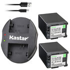 Kastar Battery Dual Charger for Canon BP-820 BP-828 & Canon XA35 Video Camera