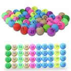 50Pcs Colorful Table Tennis Ball Pingpong Ball With Number for Promotional Game