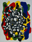 Art Canvas HD Printed Oil Painting Fernand Léger The Divers Wall Home Decor