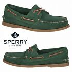 Sperry Top-Sider Authentic Original Men's Boat Shoes Comfort Suede Walking NIB