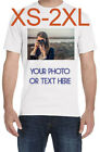 T Shirt Custom Your Photo Text Logo Printing Dtg Personalized Anything Shirts