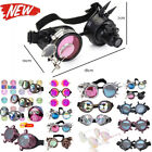 Steampunk Goggles Punk Goggles Vampire Monster Prism Glasses Rave lens Cosplay