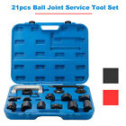 21PC C-PRESS BALL JOINT MASTER SET SERVICE KIT REMOVER INSTALLER 2/4WD AUTO