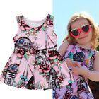 Newborn Toddler Baby Girl Star Wars Floral Pageant Tutu Dress Sundress Clothes $8.99 USD on eBay