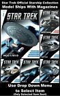 Star Trek Official Starship Collection Model Spaceships With Magazines - New on eBay