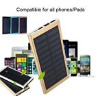 Portable 30000mAh Solar Power Bank DIY Kit 5V Dual USB Fast Charger Box Case TY