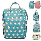 Water Resistant Trapeze Frame Baby Diaper Bag Backpack Nappy Changing Bag Handle