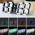 Practical Table Desk Night Wall Digital LED Clock Alarm Watch 24/12 Hour Display