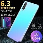 A7 PRO 6.3 Inch Android 8.0 Smartphone Face Fingerprint Dual Unlock 6GB+128GB 4G