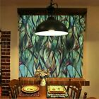 3D Orchid Stained Window Films Static Cling Glass Sticker Privacy Home Adornment