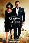 QUANTUM OF SOLACE Movie Art Silk Poster 12x18 24x36 $5.63 CAD on eBay