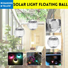 Outdoor Solar Light Floating Ball Seven Color Changing LED Solar Panel Pond Pool $7.29 USD on eBay