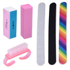 Nail File Buffer Shiner Finger Toe Manicure Pedicure UV Gel Polishing Cleaning