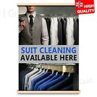 SUIT CLEANING SERVICES LAUNDRY WASHING ADVERTISEMENT POSTER | A4 A3 A2 A1 |, used for sale  London