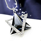 Charm Long Crystal Pendant Necklace Sweater Chains Women Wedding Jewelry Gif A!