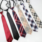 """Girls/Boys 16"""" Adjustable Classic Solid and Plaid Pre-tied Necktie Teen Kids $4.99 USD on eBay"""
