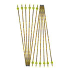 "30"" Archery Carbon Arrows SP600 Camo Arrow Shaft Arrowheads Tips Bow Hunting"