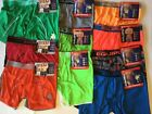 Equipo 2 Performance Microfiber Boxer Brief New Tags Men Neon Green Red Orange