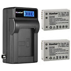 Kastar Battery LCD Wall Charger for Canon NB-10L CB-2LC Canon PowerShot SX50 HS