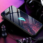 Luxury Game Case Ultra Thin Tempered Glass Pattern Cover For Asus ROG Phone 2 II