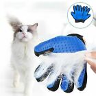 Pet Hair Glove Comb Dog Cat Grooming Cleaning Left Right Hand Removal Brush