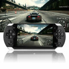 "Portable PSP 8GB 4.3"" Video Handheld Game Console Player w/Camera Earphone X6D2E"