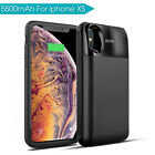 External Battery Charger Case Cover Power Bank For iPhone 6+/6S+/7+/X/XR/XS MAX