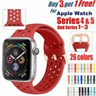Silicone Strap For Apple Watch iWatch Sports Series 1/2/3/4 38/42/40/44mm Band image