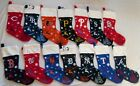 MLB Various Teams Embroidered Christmas Stockings by Forever Collectibles 24""