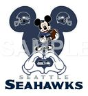 Disney Seattle Seahawks personalized iron on transfer (choice of 1) $3.0 USD on eBay