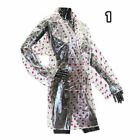 Womens Girls Transparent Clear Waterproof Lightweight Rain Jacket PVC Mac