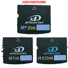 XD-Picture Card 2GB/1GB/512 Memory Card Type M Card for Olympus Fujifilm Camera