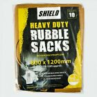 80x120cm Heavy Duty Tough Woven Polypropylene Builder Rubble Sacks Bags 800x1200